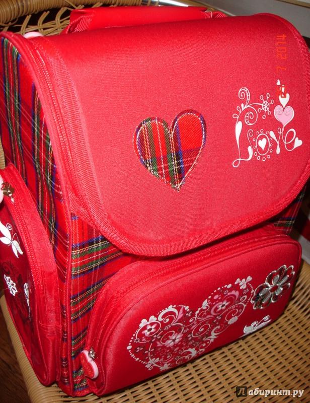 Иллюстрация 1 из 4 для Рюкзак школьный формоустойчивый Love 45x30 см (14BPh-65/GL) | Лабиринт - канцтовы. Источник: Kassavetes