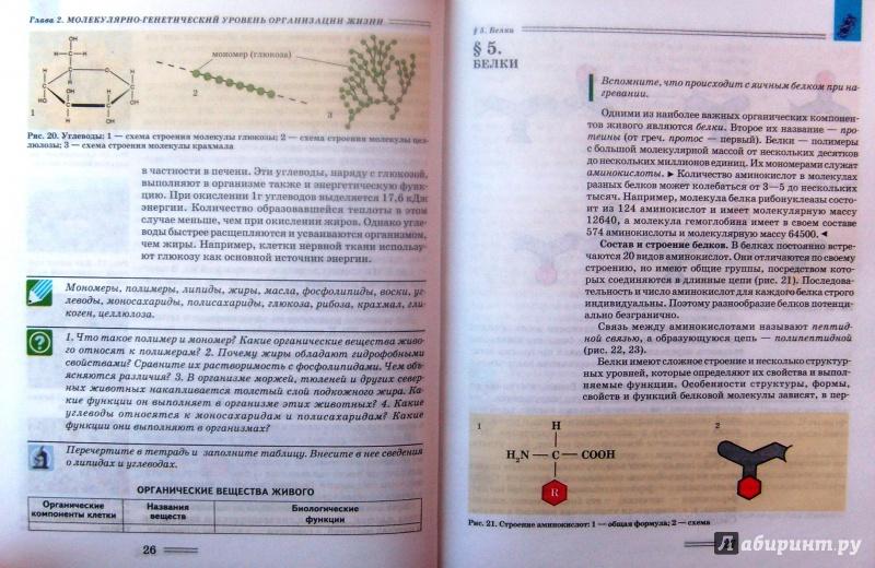 биология 9 клас нечаева гдз
