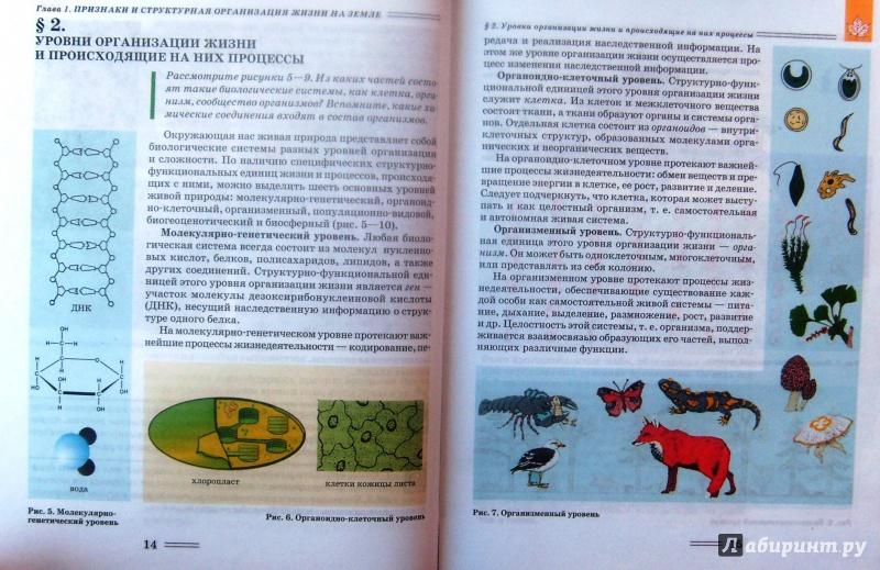 Гдз петросова 10 биология класс