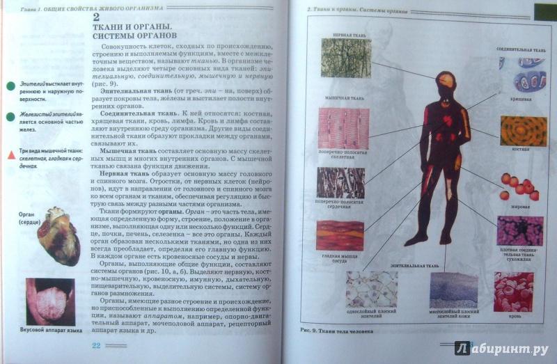 решебник по биологии человек и его здоровье 8 класс