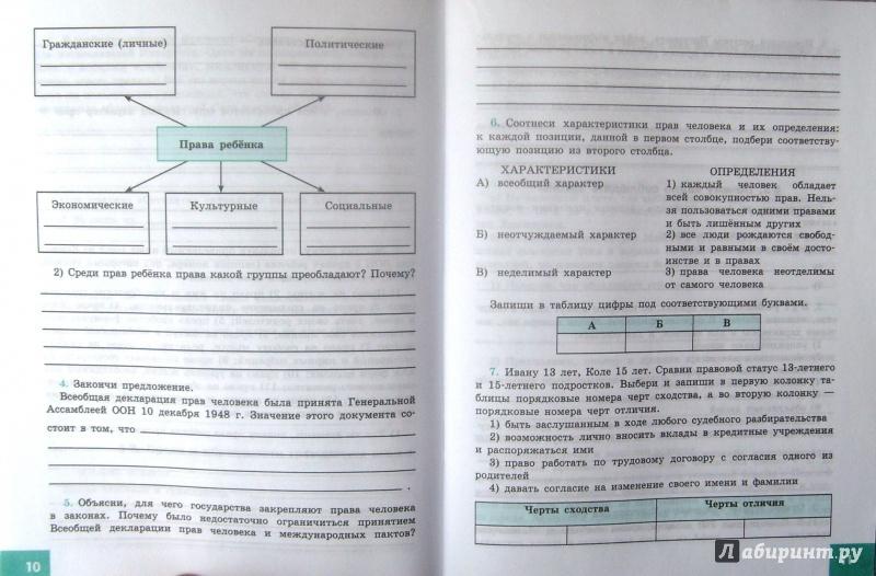 Гдз По Рабочей Тетради Обществознание 8 Класс Кравченко