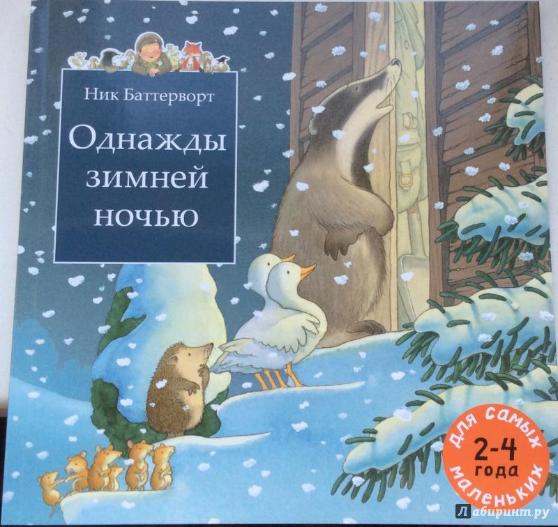 Иллюстрация 3 из 91 для Однажды зимней ночью - Ник Баттерворт | Лабиринт - книги. Источник: Карачева  Елизавета