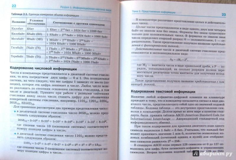 Учебник информатики макарова 7 класс