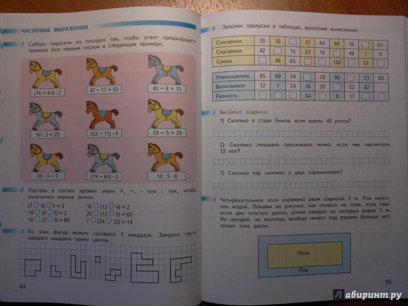 Гдз По Математике 2 Класса 2 Часть Перспектива