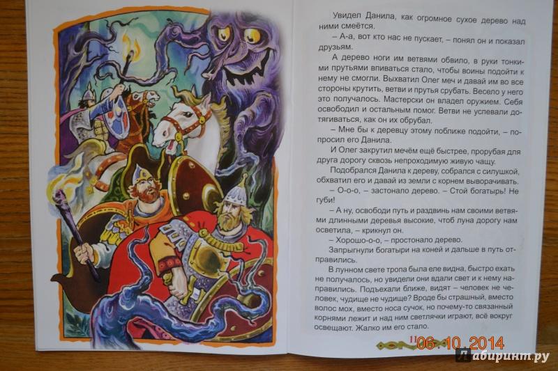 Иллюстрация 27 из 31 для Сказка о старцах, которые Илью Муромца подняли - Виталий Лиходед | Лабиринт - книги. Источник: Белоус Марина