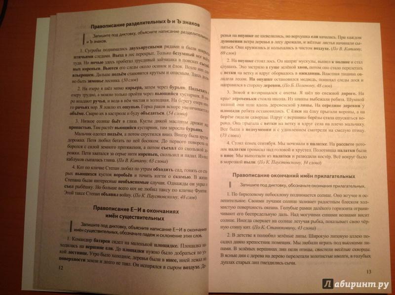 Иллюстрация из для Русский язык класс Диктанты к учебнику  Иллюстрация 8 из 31 для Русский язык 5 класс Диктанты к учебнику Т