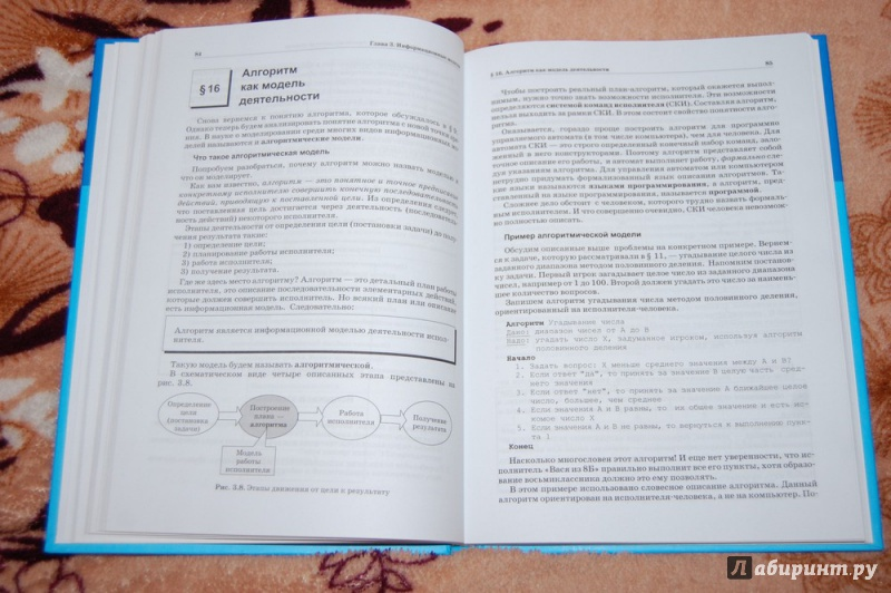 решебник по информатике 10 класс семакин базовый уровень
