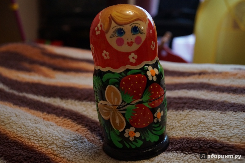 Иллюстрация 1 из 11 для Матрешка 5 в 1 (Д-282)   Лабиринт - игрушки. Источник: Масленникова  Ирина