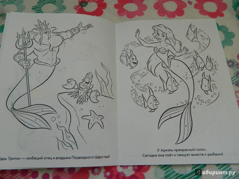 Иллюстрация 1 из 8 для Русалочка. Раскрась по номерам (№1403) | Лабиринт - книги. Источник: Nnatalek
