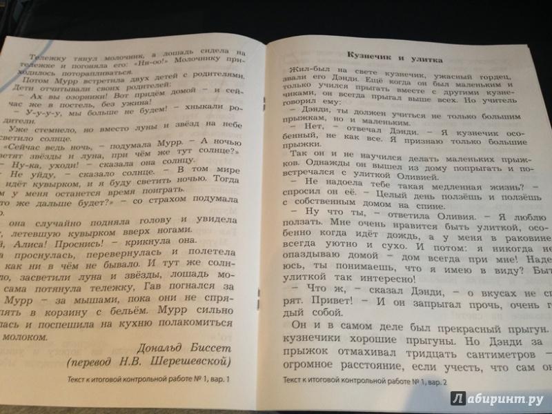 из для Итоговые контрольные работы чтению класс ФГОС  Иллюстрация 2 из 23 для Итоговые контрольные работы чтению 2 класс ФГОС Бунеева Чиндилова Лабиринт книги