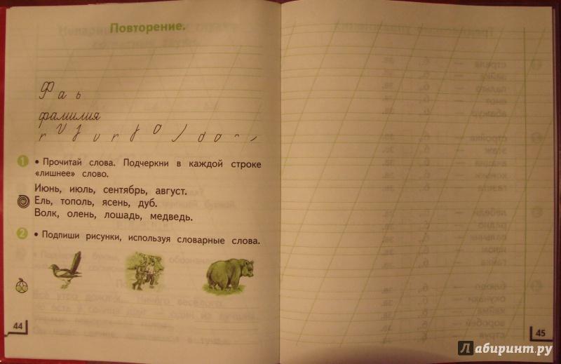 по языку т.м. андрианова русскому гдз класс учебник 1