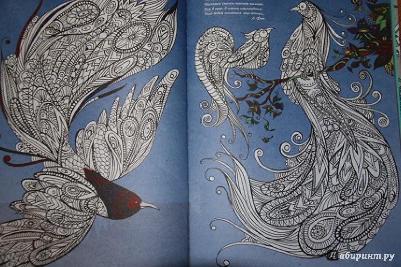 Книга арт-терапия раскраска
