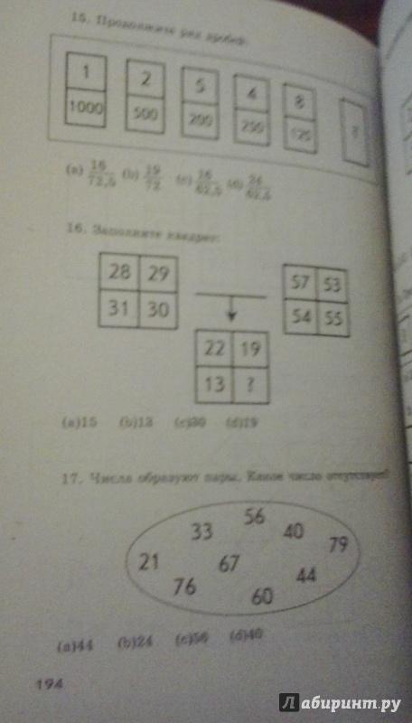Иллюстрация 1 из 5 для Новые тесты IQ - М.А. Кошелева | Лабиринт - книги. Источник: Абдулкаримова  Элина