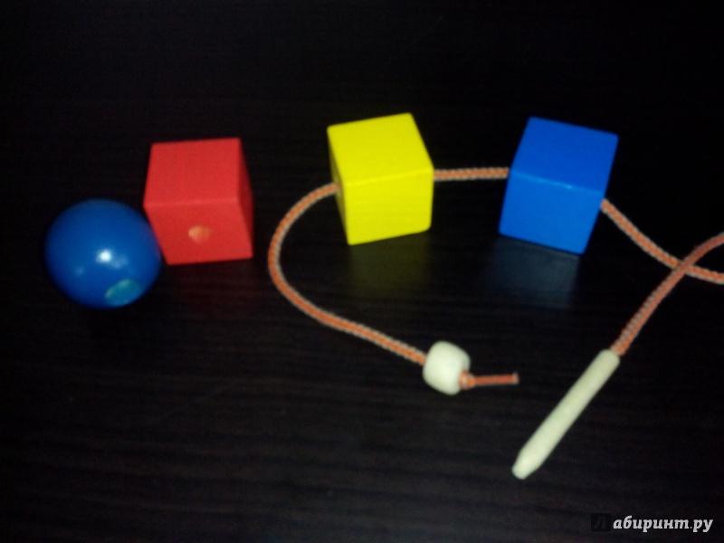 Иллюстрация 1 из 6 для Бусы геометрические цветные (Ш-042) | Лабиринт - игрушки. Источник: Bagheera
