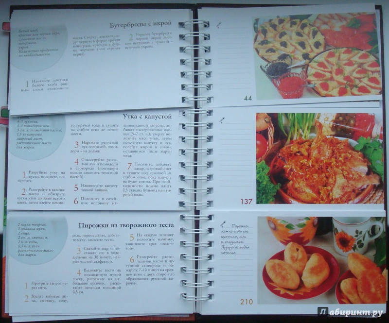 Иллюстрация 1 из 4 для Рецепты вкусной жизни (пружина) - Любовь Узун | Лабиринт - книги. Источник: Oxiana