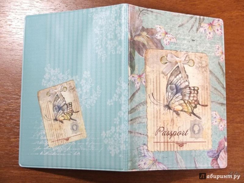 Иллюстрация 9 из 10 для Обложка для паспорта (32387) | Лабиринт - канцтовы. Источник: Firefly
