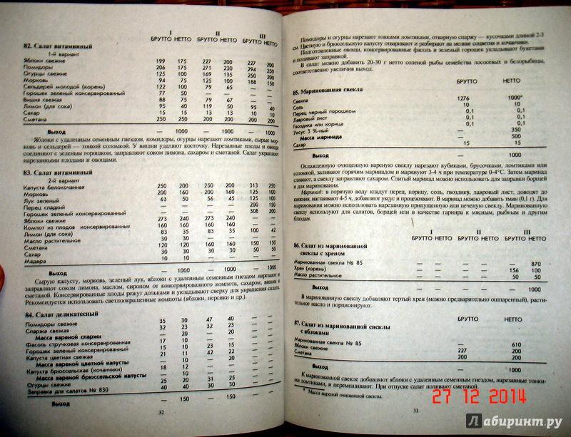 Книга Сборник рецептур блюд и кулинарных изделий для