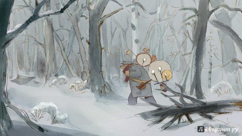 Иллюстрация 1 из 7 для Эрнест и Селестина. Приключения Мышки и Медведя (DVD) - Реннер, Патар, Обье   Лабиринт - видео. Источник: Усачёва  Нелли