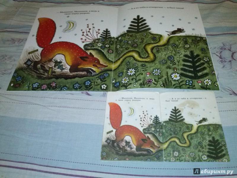 Иллюстрация 23 из 139 для Лис и мышонок - Виталий Бианки | Лабиринт - книги. Источник: Анна