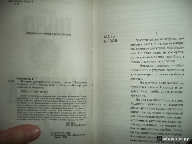 Иллюстрация 1 из 5 для Выстрел, который снес крышу - Владимир Колычев | Лабиринт - книги. Источник: Kirill  Badulin