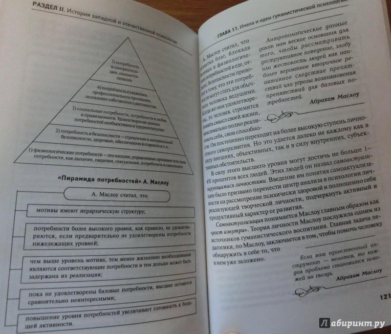 психологии как науки.
