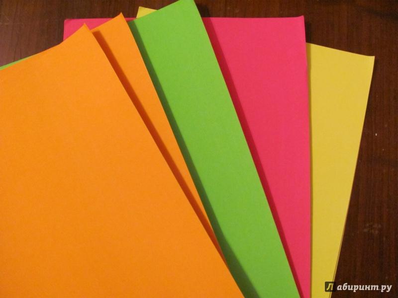 Иллюстрация 1 из 2 для Набор самоклеящейся флюоресцентной бумаги, 8 листов (TZ 8145) | Лабиринт - канцтовы. Источник: Селиверстовы  Сергей и Юлия