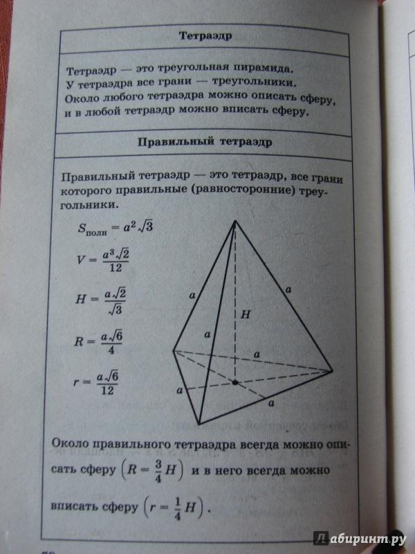 Иллюстрация 1 из 20 для Математика в таблицах. 5-11 классы | Лабиринт - книги. Источник: Якунина  Татьяна Анатольевна