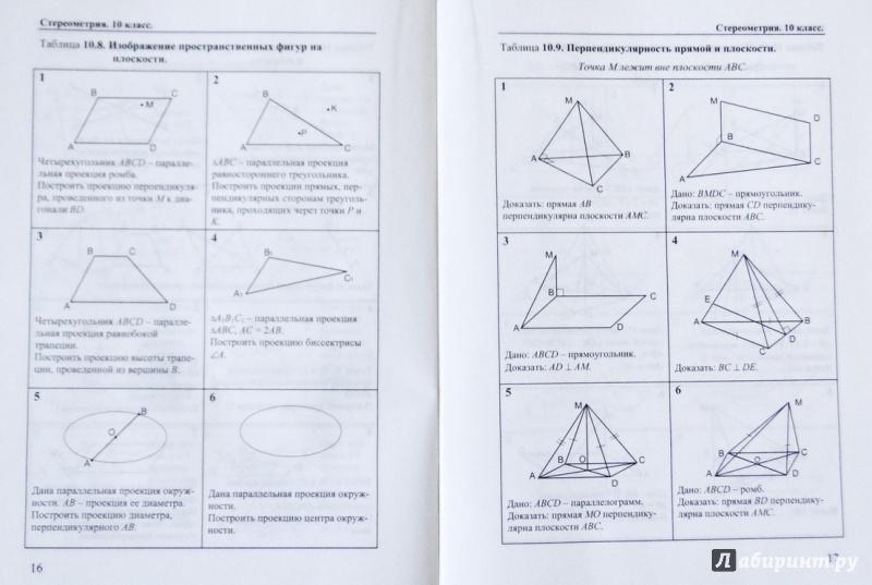 Гдз задачи и упражнения на готовых чертежах 7 класс геометрия 7-9 класс е.м рабинович