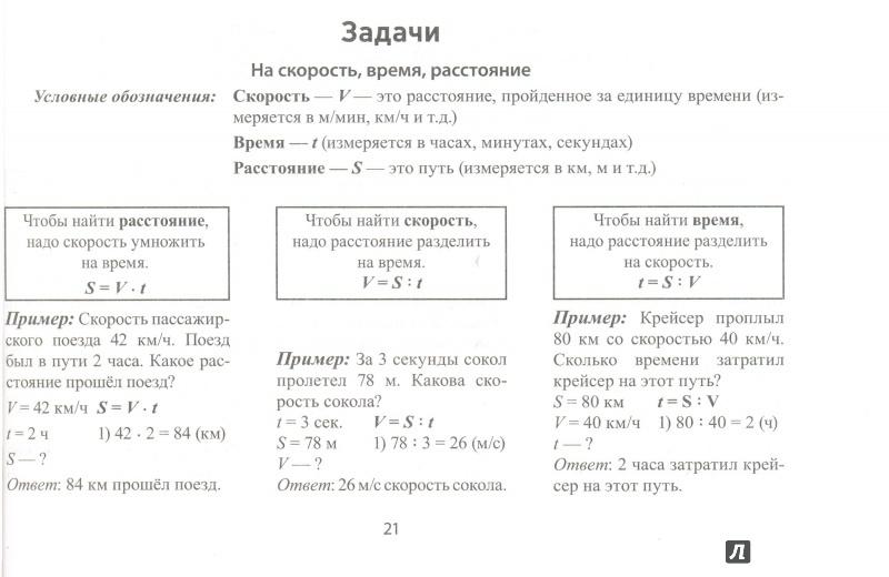 Разделы задач по математике 3 класс по программе школа
