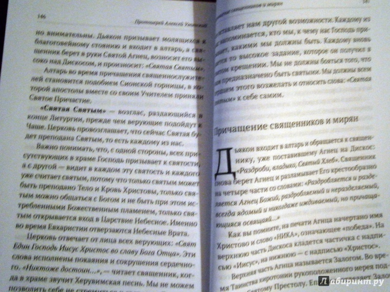 Иллюстрация 13 из 21 для Божественная литургия. Объяснение смысла, значения, содержания - Алексей Протоиерей | Лабиринт - книги. Источник: D8  _