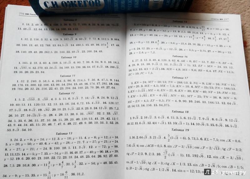 Решебник к книге геометрия