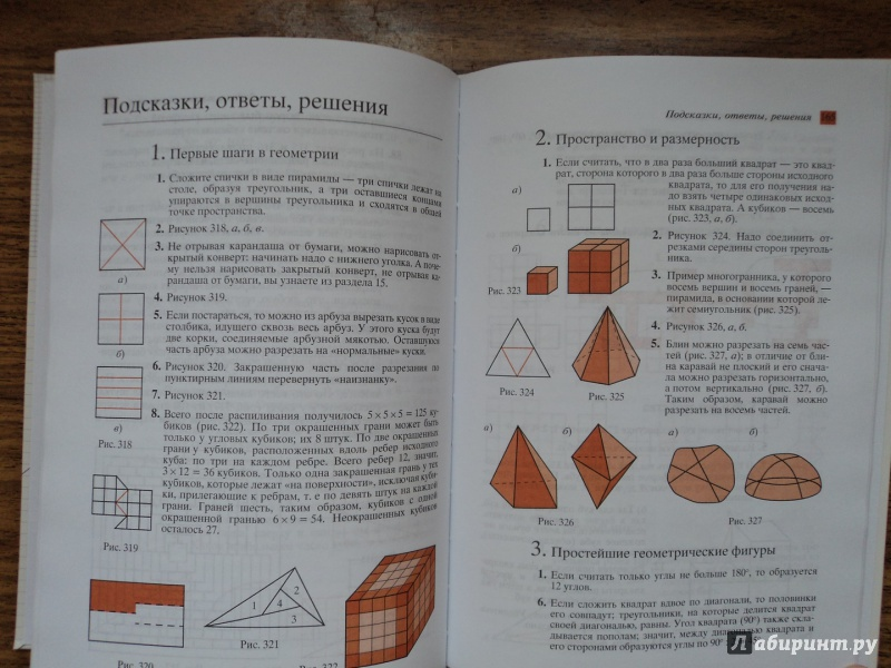 Класс 6 решебник гдз шарыгин геометрия наглядная