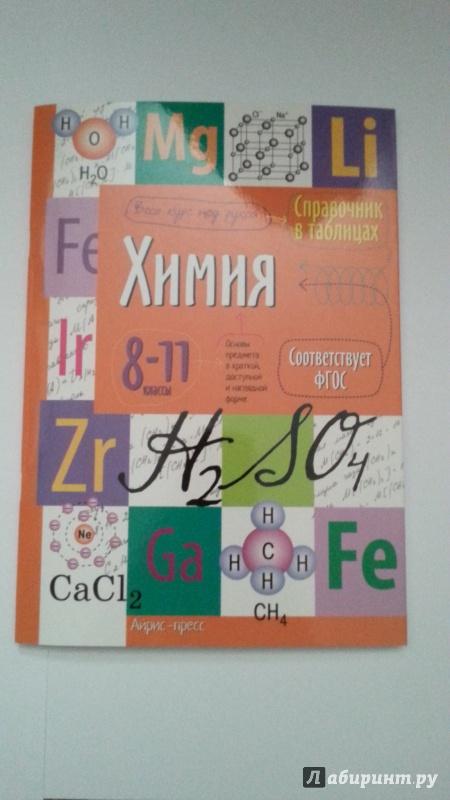 Иллюстрация 1 из 23 для Химия. Справочник в таблицах. 8-11 класс | Лабиринт - книги. Источник: Jesse