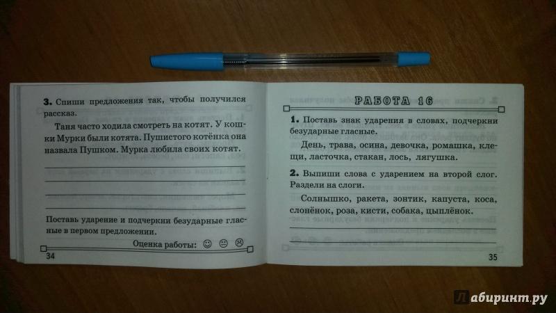 Иллюстрация 8 из 22 для Русский язык. 1 класс. Зачетные работы. ФГОС - Марта Кузнецова | Лабиринт - книги. Источник: RoMamka