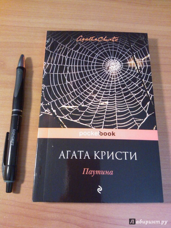 Иллюстрация 1 из 5 для Паутина - Агата Кристи | Лабиринт - книги. Источник: Половинкина  Анна