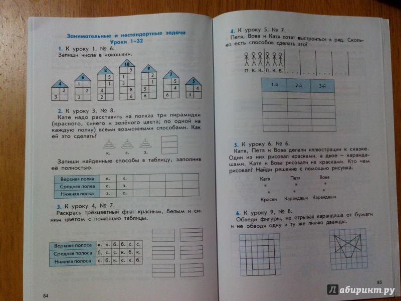 математика к 4 гераськин козлова класс учебнику материал дидактический гдз