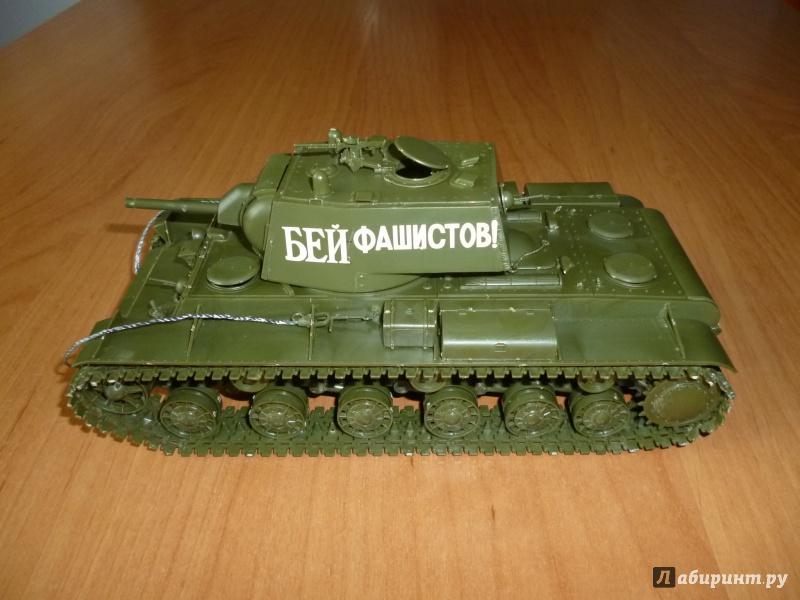 Иллюстрация 1 из 9 для 3624/Советский тяжелый танк КВ-1 модель 1940 г. с пушкой Л-11 | Лабиринт - игрушки. Источник: Плешкова  Екатерина Евгеньевна