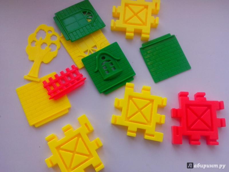 Иллюстрация 1 из 2 для Деревенский домик. 50 деталей | Лабиринт - игрушки. Источник: Чернышева  Ольга