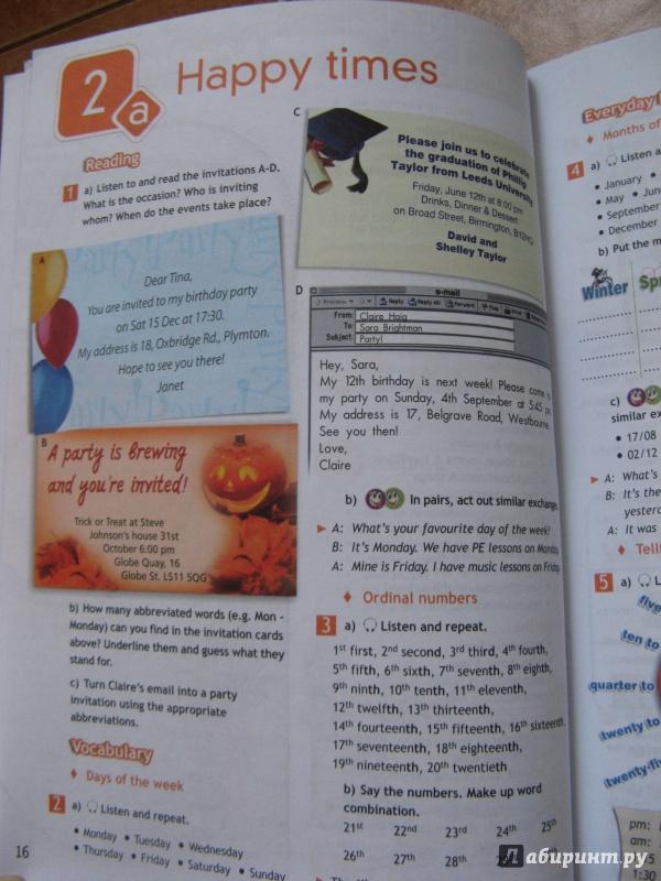 английский в фокус 6 класс учебник гдз