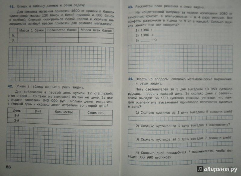 По математике гдз максимова 4 класс сборнику по