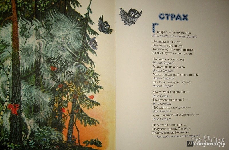 Иллюстрация 58 из 111 для Сказка о страхе - Екатерина Серова   Лабиринт - книги. Источник: Трухина Ирина