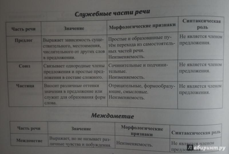 имя прилагательное (схема