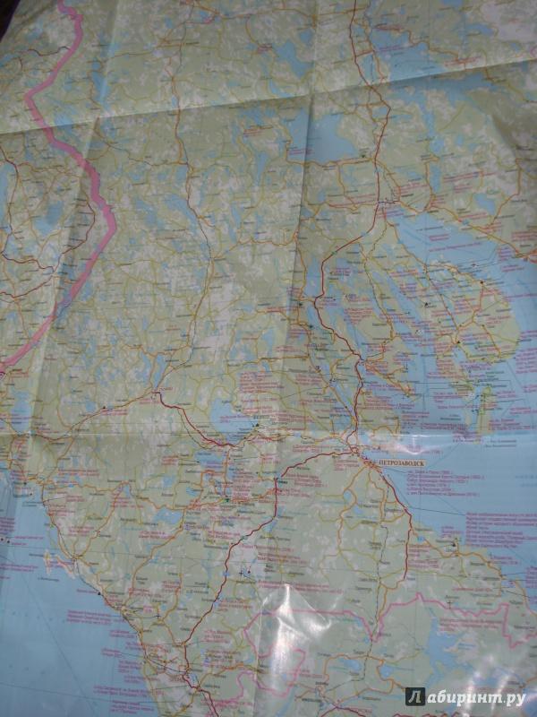 Иллюстрация 1 из 2 для Республика Карелия. Туристская карта   Лабиринт - книги. Источник: Еременко  Оксана