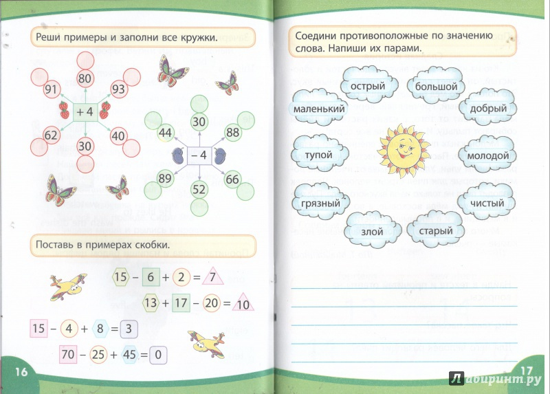 Весёлыу картинки по русскому языку 2 класс