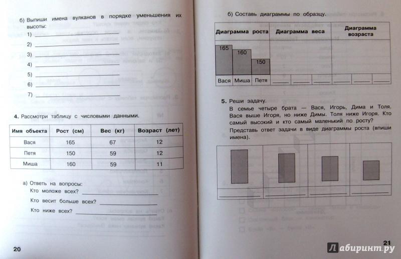 решебник к контрольным работам по информатике 4 класс