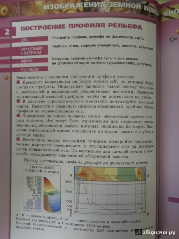 гдз география 5-6 котляр