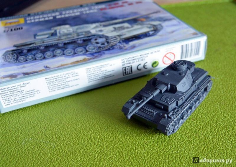 Иллюстрация 1 из 12 для Немецкий средний танк Т-IV F2 (6251) | Лабиринт - игрушки. Источник: Kassavetes