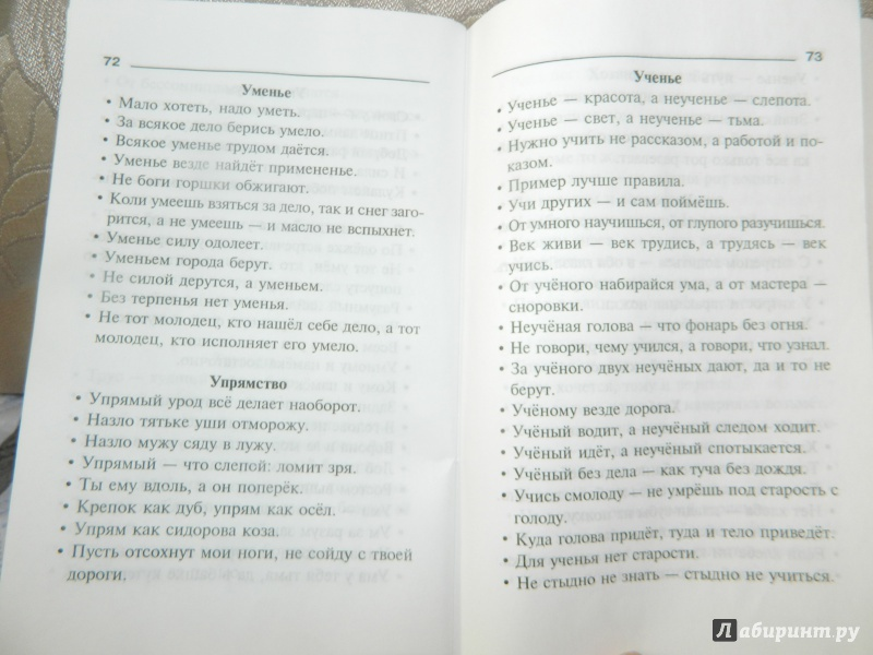 Иллюстрация 1 из 33 для Пословицы, поговорки и крылатые выражения - Ольга Ушакова | Лабиринт - книги. Источник: Кsena