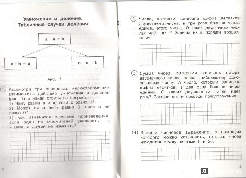 Математика чуракова 3 класс