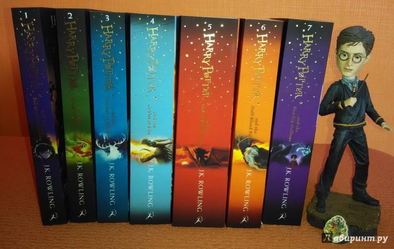 Иллюстрация 1 из 25 для Harry Potter Boxed Set. Complete Collection - Joanne Rowling | Лабиринт - книги. Источник: JTRoth